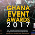 Ghana Events Awards slated for August 4, 2017 + full list of nominations