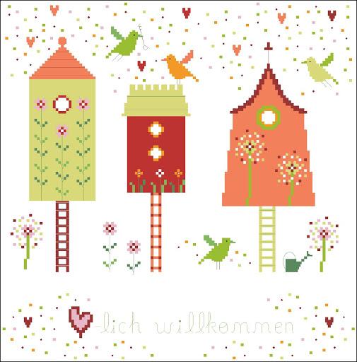 Birds house chart
