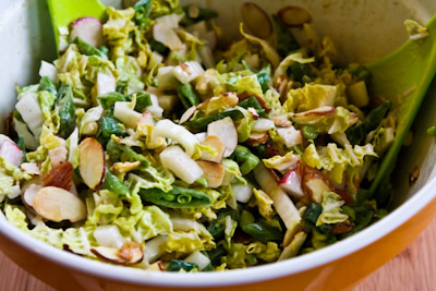®: Crunchy Napa Cabbage Asian Slaw with Sugar Snap Peas, Radishes ...