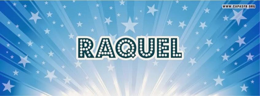 Capas para Facebook Raquel