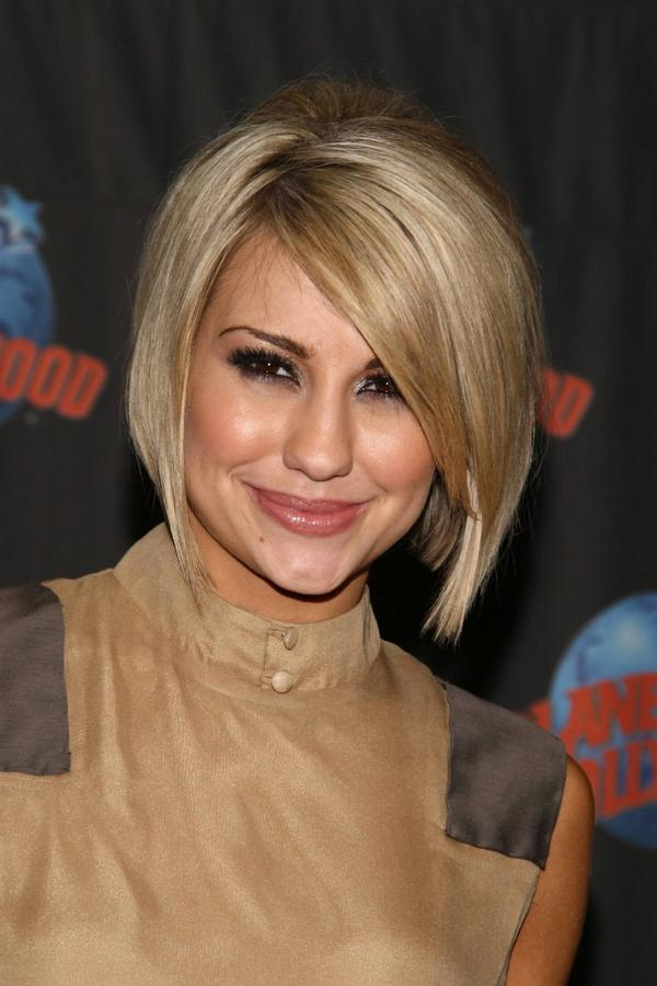 Ashlee Simpson Short Asymmetrical Layered Bob Haircut Styles Art