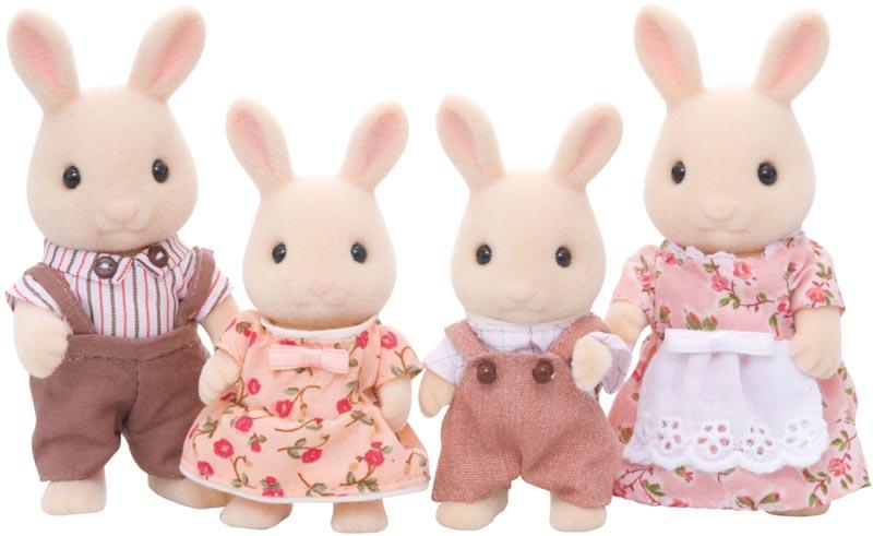 Contenido real de Familia Conejos Blancos