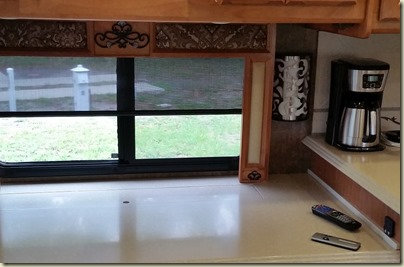 Old window treatment