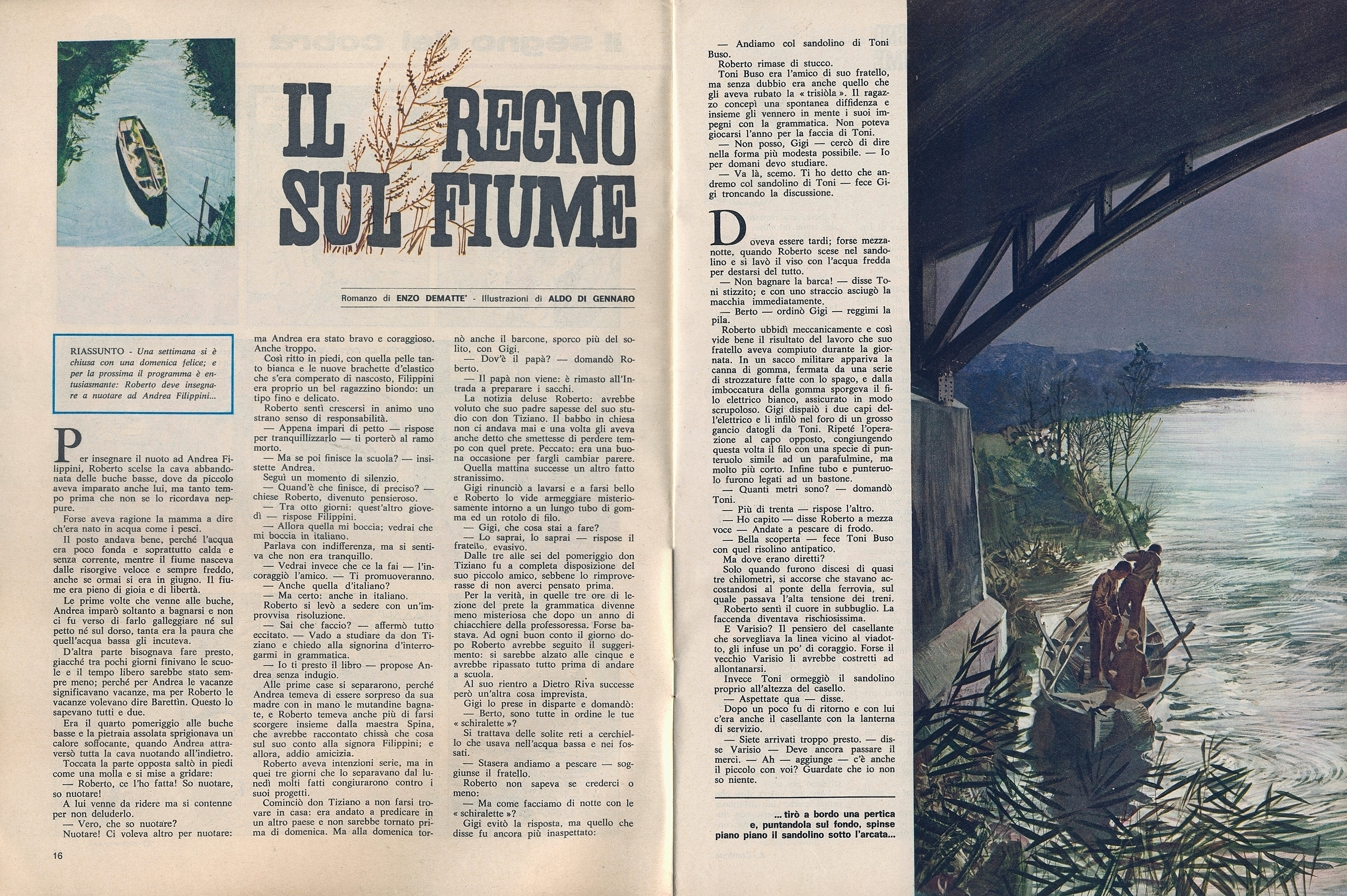 Corrierino e giornalino il regno sul fiume - Il giardino sul fiume ...