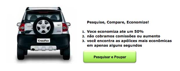 Seguros de Carro para Volkswagen Cross CrossFox