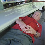 Al HIx takes an after lunch nap.