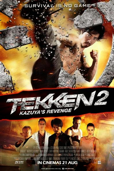 Poster Of English Movie Tekken: Kazuya's Revenge (2014) Free Download Full New Hollywood Movie Watch Online At Alldownloads4u.Com