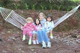 Mollie, Victoria, Bethanie, Karen - camping trip
