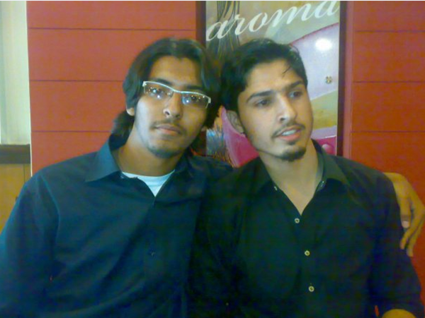 5 years old pic with Asjad :)