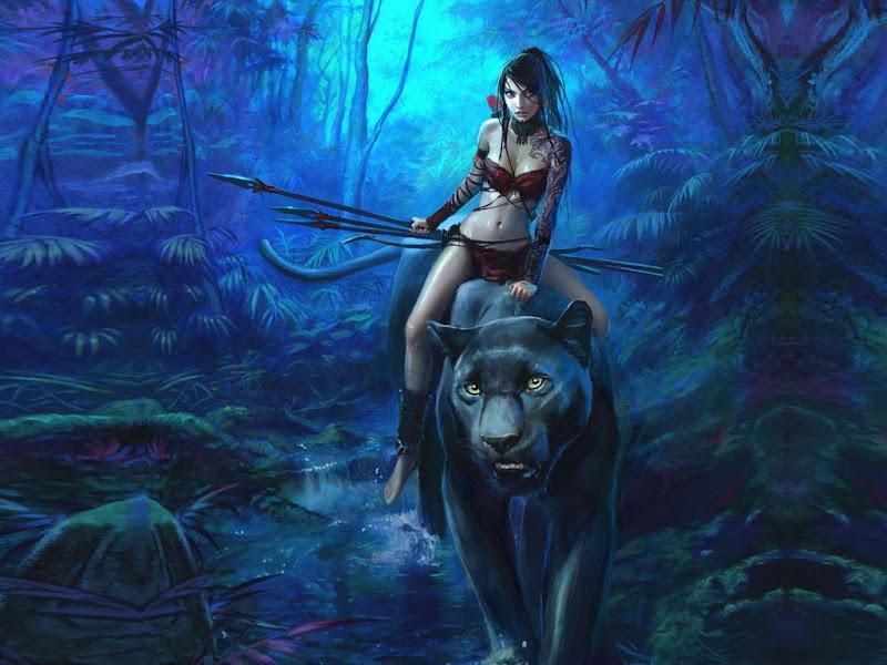 Warrior On Black Panther, Warriors 2