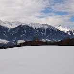view of the alps in Innsbruck, Tirol, Austria