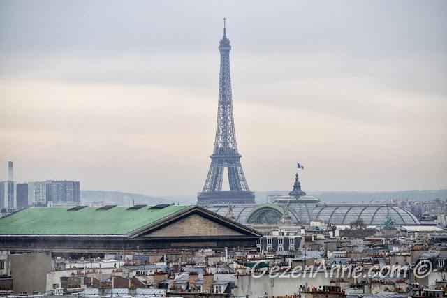 Paris manzarası