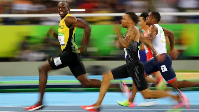 Alahai Usin Bolt, Selamber Je Muka