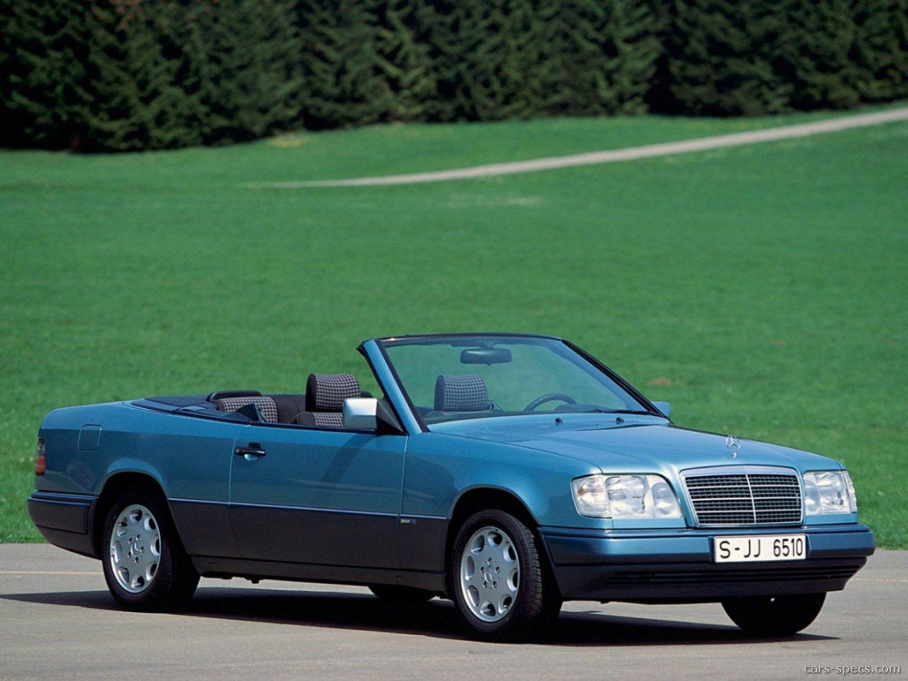 1995 mercedes benz e class convertible specifications for Mercedes benz e class 1995