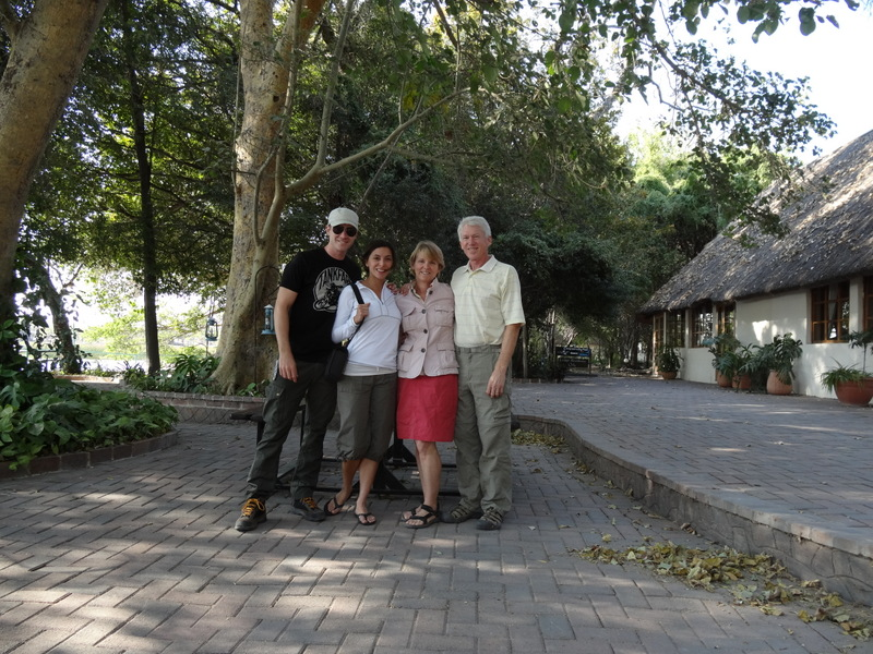 Our adventure starts at Island Safari lodge in Maun