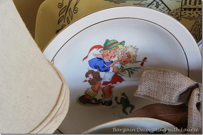 Summer Decor Frog Fright Plate