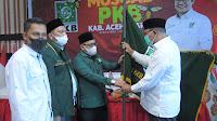 Tgk. Samsul Bahri Nahkodai Ketua PKB Aceh Utara 2021-2026