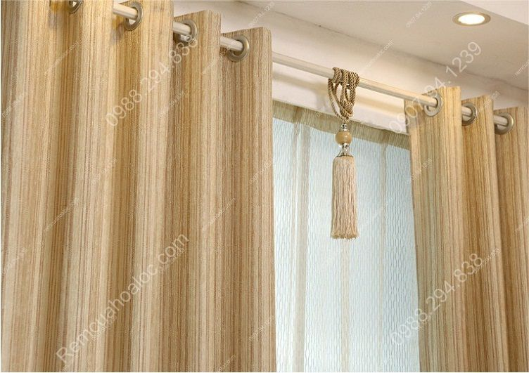 Rèm cửa đẹp ở hà nội một màu nhung lịch lãm 8