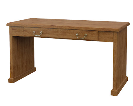 York Writing Desk in Como Maple