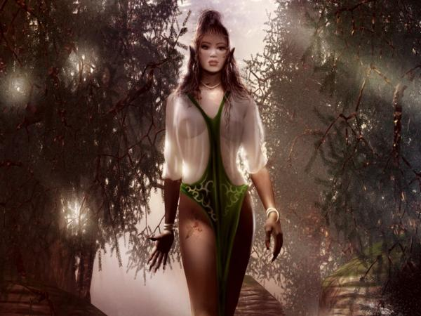Girl In Magic Tree Alley, Fairies 2