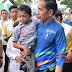 Adul Bocah Berkebutuhan Khusus Asal Cibadak Digendong Jokowi