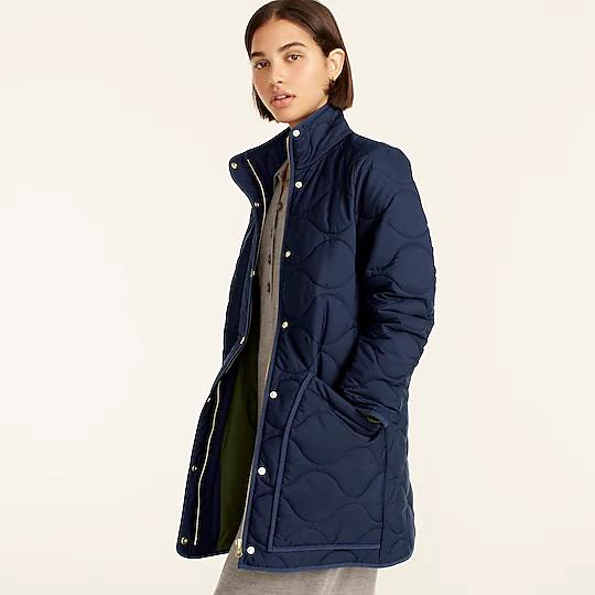 J Crew puffer jacket