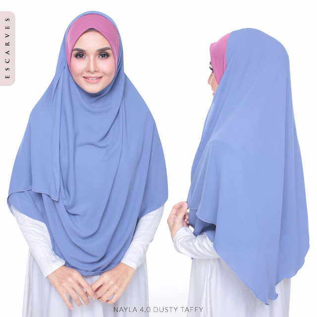 tudung shawl instant terkini
