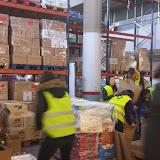 Gestió Comercial i Màrqueting, visita i acció solidària al BANC D'ALIMENTS