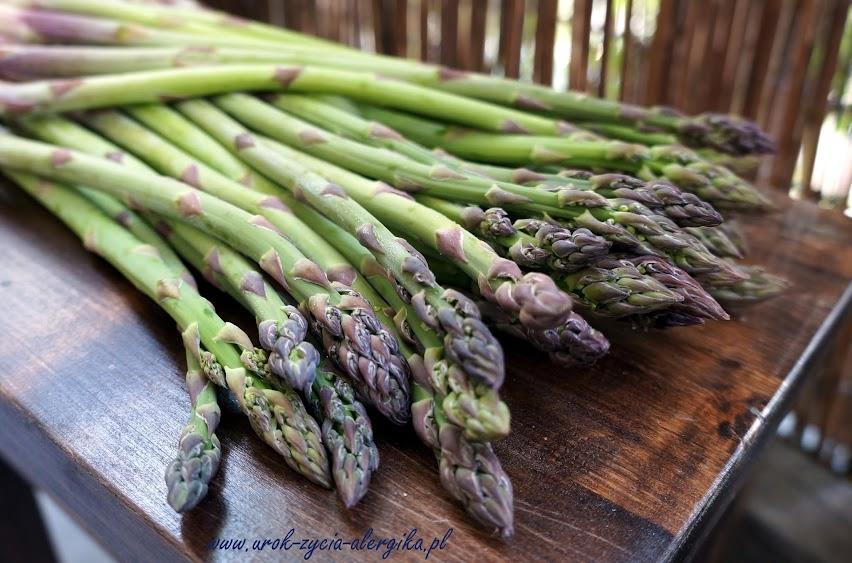 Szparagi zielone - warzywa dla alergika