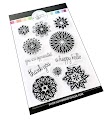 Frosted Blossoms Stamps