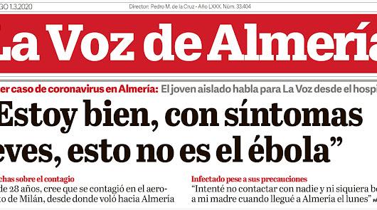 Un año del primer caso de Covid en Almería: lo que deja la pandemia