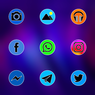PIXEL FLUO - ICON PACK Screenshot Image