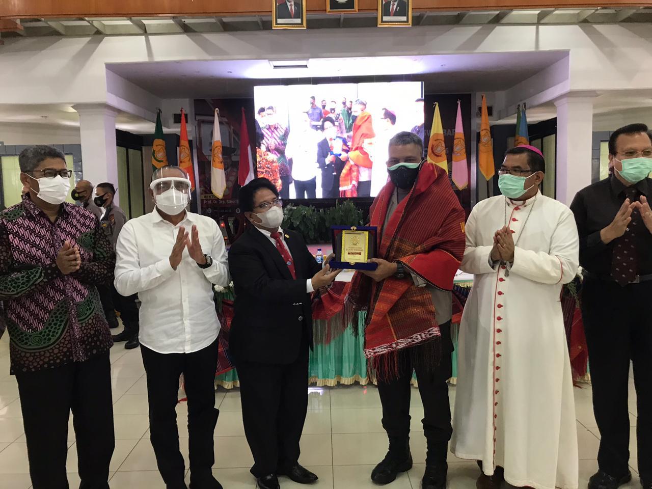 Kapolda Sumut Menjadi Narasumber di Universitas Katolik Santo Thomas