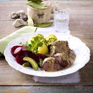 German Snirtjebraten Pork Roast