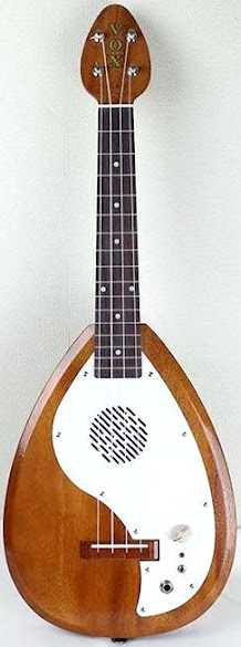 Vox Japanese Teardrop Tenor Electric Ukulele