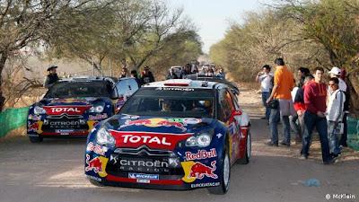 Loeb rally de mejico