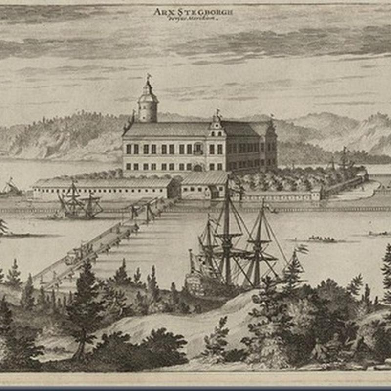 The Ruins of Stegeborg Castle (Sweden).