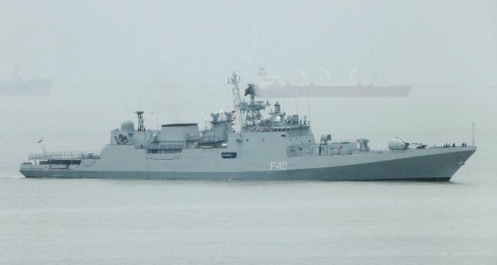 INS Talwar - F40 - Missile Frigate - Indian Navy - 03-TN