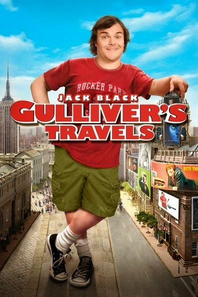 Poster Of Gulliver's Travels (2010) Full Movie Hindi Dubbed Free Download Watch Online At Alldownloads4u.Com