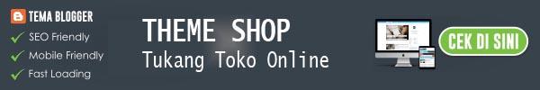 THEME SHOP - Tukang Toko Online