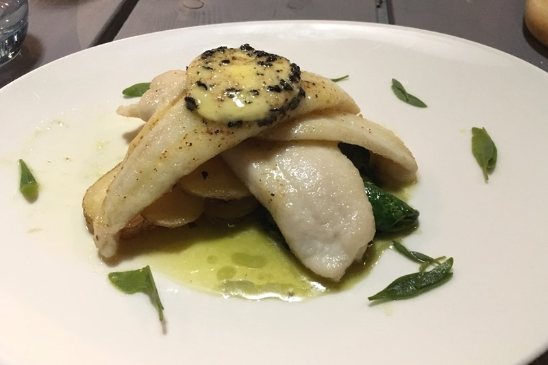Lemon Sole at East Coast Dining Room