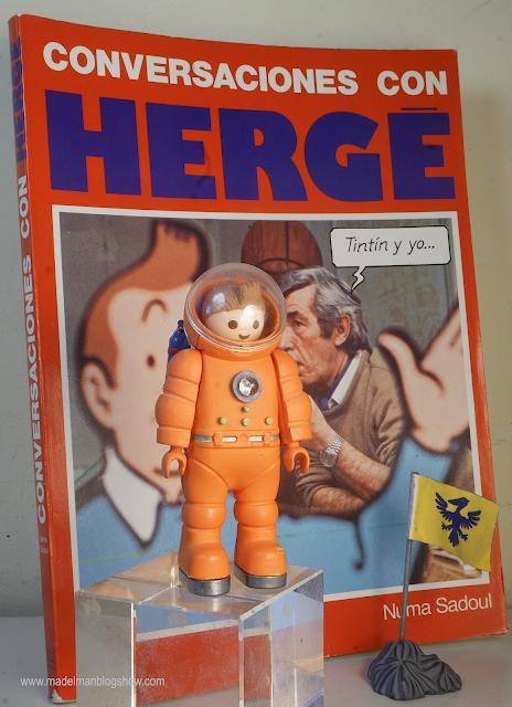 Conversaciones con Hergé y Playmobil Tintin