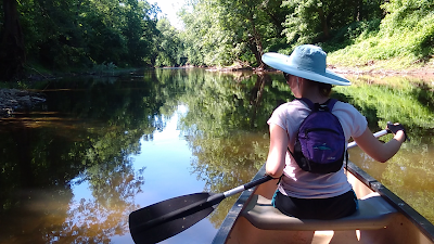 Gliding down the Monocacy River