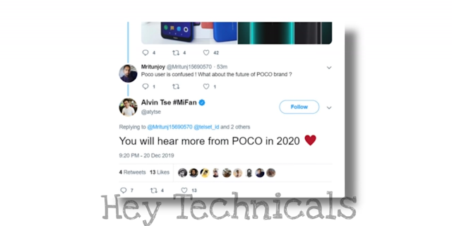 tweet by POCO officials