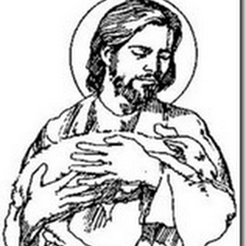 Dibujos muerte y resurección de Cristo para colorear