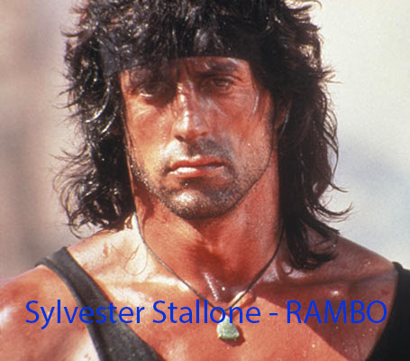 Sylvester Stallone Rambo The Expendables 2 (2012)