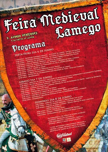 Programa da Feira Medieval de Lamego - 2014