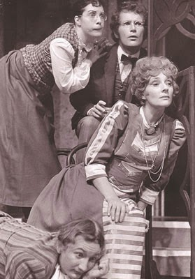 Working with Bruce Gray again in Thornton Wilder's The Matchmaker. (Source material for Hello Dolly!) Meadowbrook Theater 1971