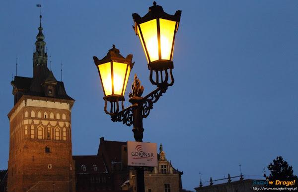 Gdańsk nocą - Katownia