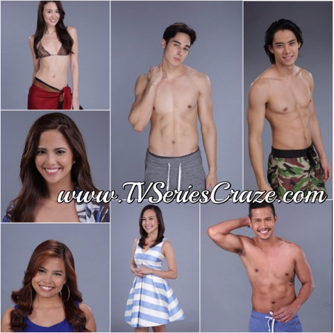 PBB Lucky 7 Sexy Hot Housemates - TV Series Craze